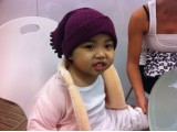 3 Year Old Little Girl Jing Jing infected T-cell Lymphoma